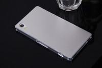 Best Quality Slim Metail Bumper + Slim Metal Cover Case For Sony Xperia Z1 L39h Free DHL Shipping,MOQ:30pcs/lot,B0187