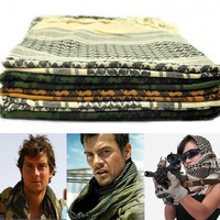 Shemagh Arab Military outdoor Tactical Scarf fashion face veil for hunting  ski survival camping scrim scarves 110*110cm