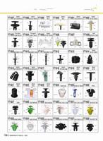 Free shipping Door screw ceiling trunk plastic bumper auto cord lock clip Fastening clips 10 pieces/lot