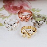 Accessories digiti fashion bow ring pinky ring ct-15 . wy