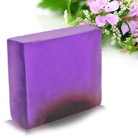 Lavender essential oil handmade soap face soap oil control acne soap