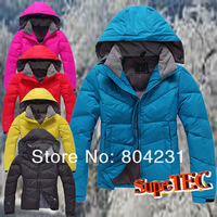 TOP SALE 2014 Brand outdoor Women's Winter Down jacket winter lady Duck down coat dropping wholesale Free shipping