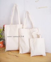 6 canvas bags linen bag 100% cotton eco-friendly bag shopping bag blank muji high quality customize diy