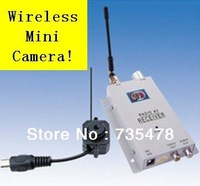 1.2G Night vision Mini Wireless camera  transmitter Receiver wonderful Wireless Monitor Video camera