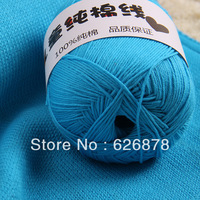 Free shipping baby cotton sand line 32 kinds of color a hand-knitted 1piece = 1 two