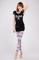 free  shipping   New arrival leggings Women's Fashion Leggings H256