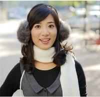FREE SHIPPING Ultralarge 2013 Women ear muffs winter thermal faux earmuffs ear