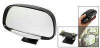 Car Van Black Wide Adjustable Angle View Blindspot Blind Spot Mirror  Suitable for all models