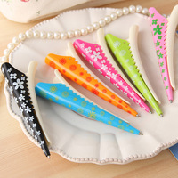 StationeryFashion Clip Style Ballpoint Pen 6 Color 6 pcs/lot Mixed Color