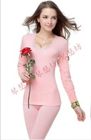 Hot seamless women's beauty care set sexy thermal underwear long johns long johns thermal clothing