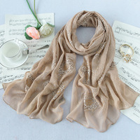 Rgxzr 2014 autumn and winter embroidery silk scarf silk female cutout 100 quality mulberry silk scarf