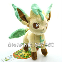 Retail Pokemon Leafeon Glaceon plush toy dolls Cute Stuffed Animal Doll pikachu plush toy
