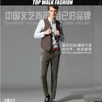 High Quality Mens Corduroy Pants Fleece Winter fashion/Casual slim cuttingTrousers 28-- 38 high quality men's pants