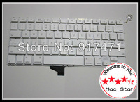 "A Lot Of 3PCS White Keyboard For Macbook A1342 MC207 MC516 13"" Laptop US Keyboard Without Case 95% New And Original"