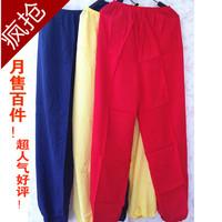 Artificial cotton bloomers pants quinquagenarian mosquito dance yoga pants sports pants