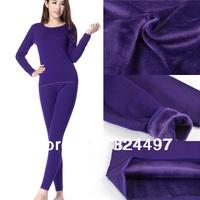 Plus thick velvet bamboo fiber+cotton, 100% high quality brand assurance! women's Long Johns, women's thermal underwear
