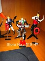 Free Shipping 3 pieces/set No. 055 056 057 DMC Detroit Metal City Music Band  Action Figures