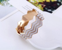 New design Free shipping European and American big frosted female fashion simple decoration bracelet