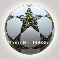 Free shipping official size 5 machine sewn soccer ball/football. 50pcs/lot Your logo is acceptable for larger quantity