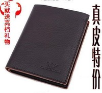 Male men's genuine leather male 2012 genuine leather wallet