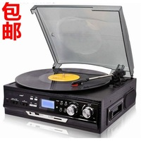 Lp vinyl player radio-gramophone graphophone cd player multifunctional player fashion