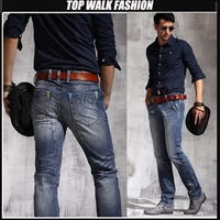 Free shipping ! New Arrival 2013 fashion casual Men's jeans regular jeans men ,brand jeans, new stylish,Men's newly denim