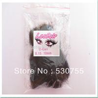 eyelashes falses single lashes extension 0.15 C 10mm