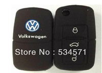 New Eco-friendly Silicone car remote control  Keycase Bag For VW Volkswagen Passat Golf POLO Lavida Bora Beetle  Perfect Gifts