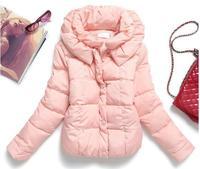 Autumn and winter female models big yards thick warm cotton women short paragraph Korean version of Slim jackets coat female