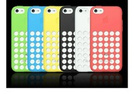 Free shipping+lowest price!6 color phone case for free choice for iphone 5c/round phone case /Water/Dirt/Shock Proof