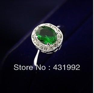 italina корейских ювелирных оптовых элегантный ретро микро кольцо rhinestone кристалла женский изумруд