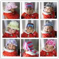 Free Shipping Baby pirate hat baby cap knitted infant newborn hat piles cap princess hat child cap