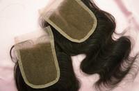 body wave free part top closure piece brazilian lace base closure brazilian virgin hair wavy ( 4*4 5*5 inch 3.5*4 inch)