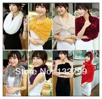 Fashion Women Girl Neck Warmer Magic Scarf Shawl Long Stretchy Wrap Pashmina 16 Colors