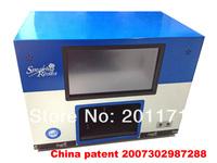 Moving nail salon Nail printer, cheap personality nail printer,Diy nail art,10 inches touch screen  0q