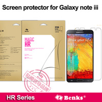 Benks For samsung galaxy note 3 Screen Protector,galaxy note iii lcd film Magic HR High Transparent with retail pack,Free ship