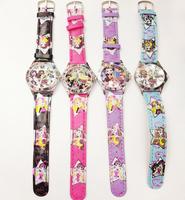 Wholesale Monster High fashion Wirstwatch 4pcs best gift for children