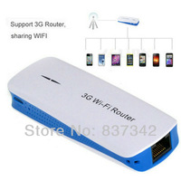 Portable 5in1 150Mbps Mobile Wireless USB 3G Wifi Router + 1800mAh Power Charger