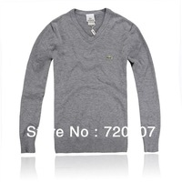 2013 New Arrival lOCA Style Classic Winter Thermal Irregular Male Polo-Necked Collar Turtleneck Sweater Freeshipping