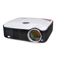 On sale! portable HD led micro projector with TV tuner HDMI AV in VGA,perfect for playing video games