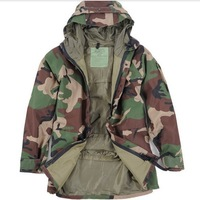 G8 Waterproof Windbreaker Jacket Woodland