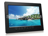 "New arrival Portable 7"" TFT Color LCD Monitor, Support VGA input and Three-AV input, connect DVR and CCTV Camera"