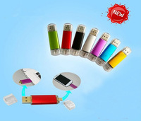 New 2013!!! Smart Phone USB 2.0 Flash Drives pen drives OTG external storage micro usb memory stick for Samsung Free shipping