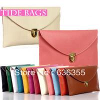 2013 bag fashion vintage bag one shoulder cross-body bag women's envelope handbag chain bag card holder