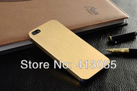 0.3 mm Ultrathin Aluminum case for iphone 5s 5g 100% brushed Aviation aluminum back cover