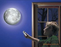 The moon light in Europe and the wall lamp small night light projection of the moon light