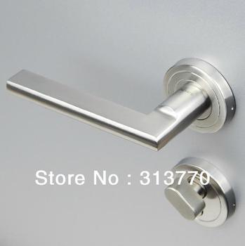 85mm Free shipping  2pcs handles with lock body+keys 304 stainless steel locks handle lock door locks