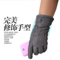 2013 autumn and winter women's thermal down cotton thickening of touch screen gloves st08