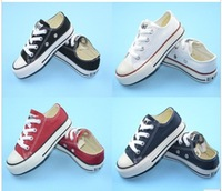 New brand fashion low help shoes boys and girls children sports canvas shoes and sports stars Y90007Q children's shoes  23--35