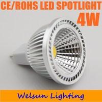 NEW 300LM LED Bulb Dimmable 4W COB gu10 E27 MR16 GU5.3 COB LED Spot Light